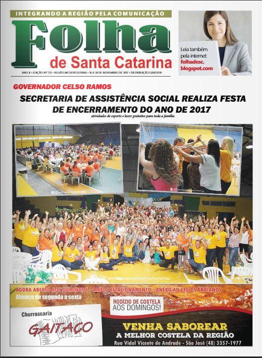 Jornal folha sc edição 231