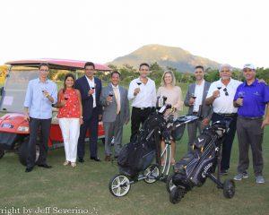 """O destino turístico que mais encanta os argentinos, Florianópolis, foi escolhido como sede do lançamento do Circuito Internacional de Golf pelos Caminhos do Vinho - Copa """"Bodega Los Haroldos 2018"""" no Brasil"""
