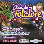Dia do Folclore será celebrado em São José-Div.Folha de Santa Catarina