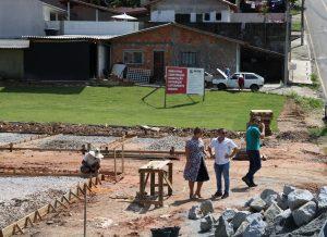 Obras em São José Folha de Santa Catarina