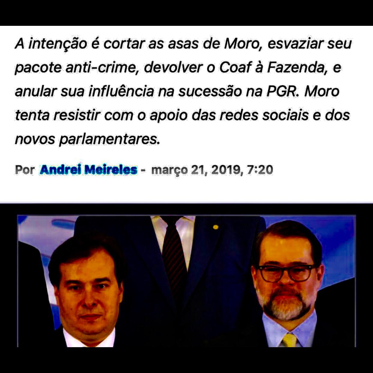 o Brasil é ingovernável fora dos conchavos