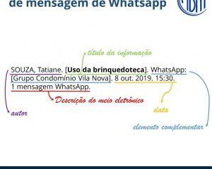 Abnt oficializou referência whatsapp